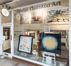George Thornton Art Nottingham UK