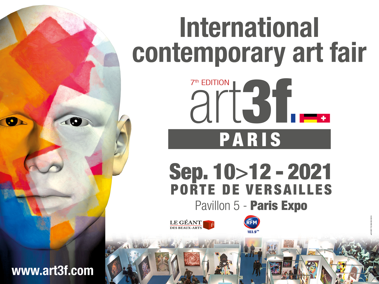 art3f Paris International contemporary art fair